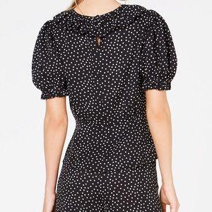 Jill Stuart Tops - Jill Jill Stuart puff sleeve peplum blouse